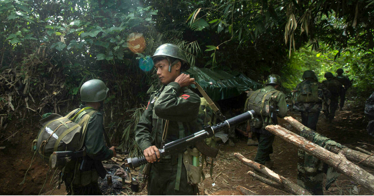 Myanmar's armed minority received a Covid-19 vaccine from China?  |  Globalism