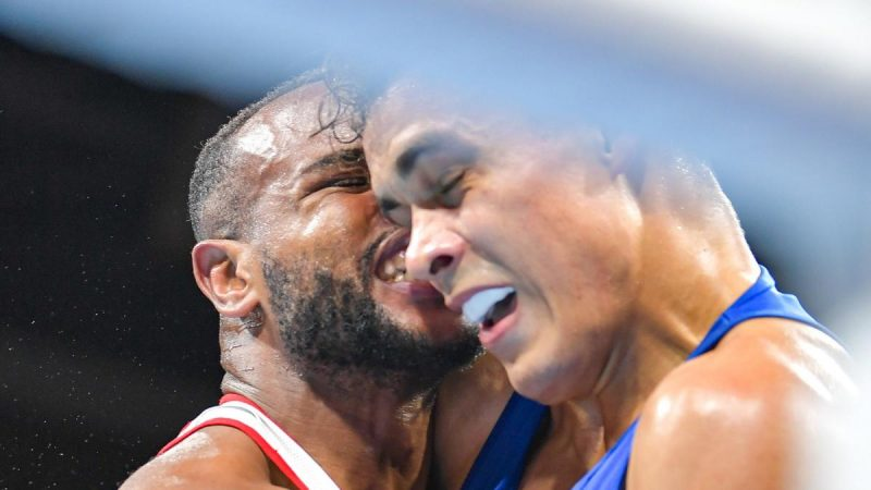 Olympia 2021: Like Tyson once - a boxer takes a bite attack on his opponent