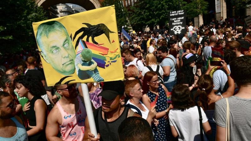 Pride: Thousands in Budapest send a raucous message to homophobic Orban