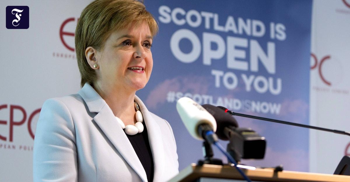 Scottish Prime Minister Nicola Sturgeon wants to return to the European Union