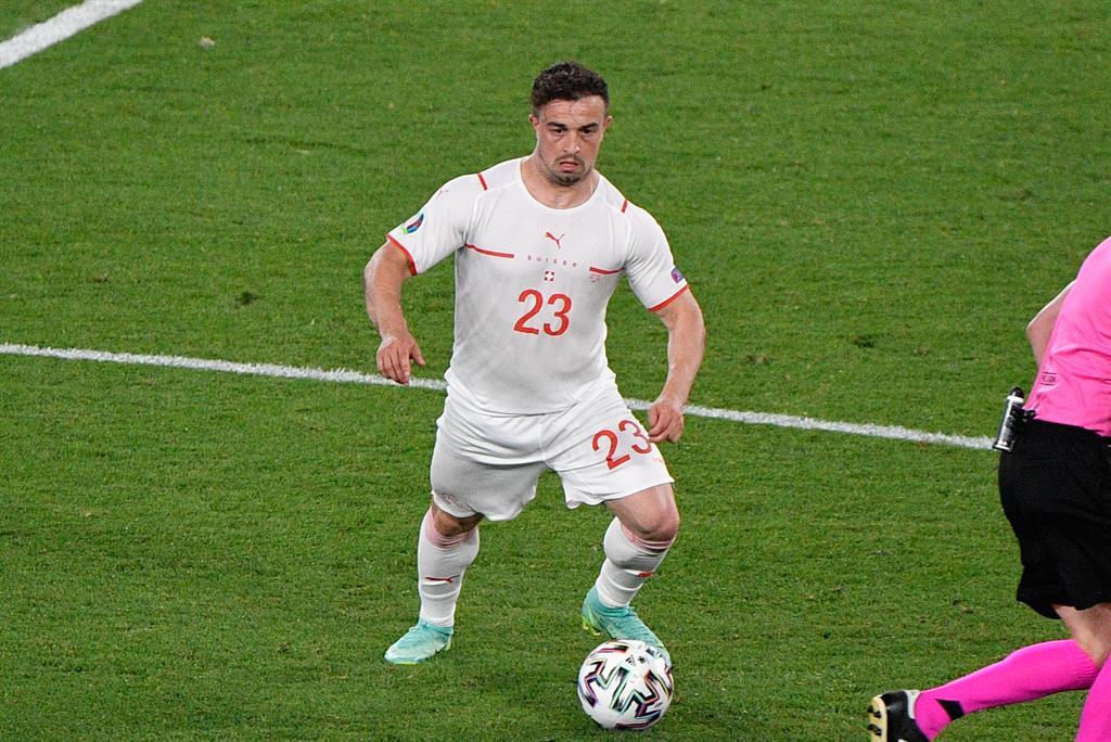 Shaqiri puts Switzerland in third place