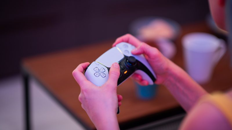So you can play in the PS5 room without a Playstation 5