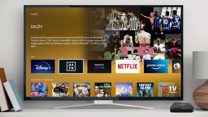 TIMVision presents the show with DAZN, Discovery +, Infinity +, Netflix and Digital Land