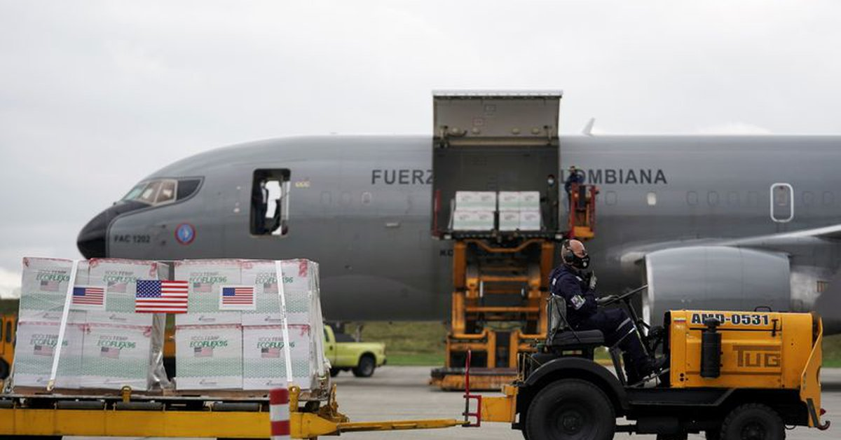 The United States confirmed the shipment of a new batch of vaccines to Colombia: there will be three million in total