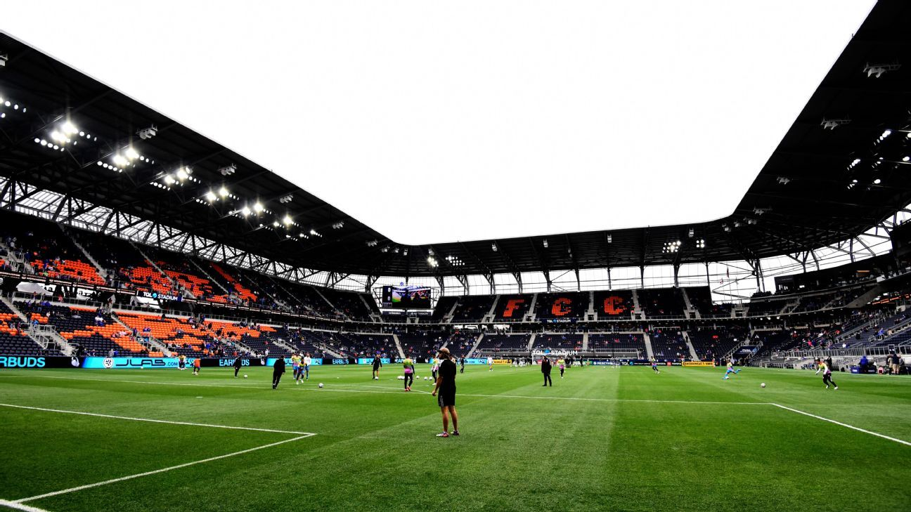The United States will host Mexico in Cincinnati, their new venue for World Cup qualifiers