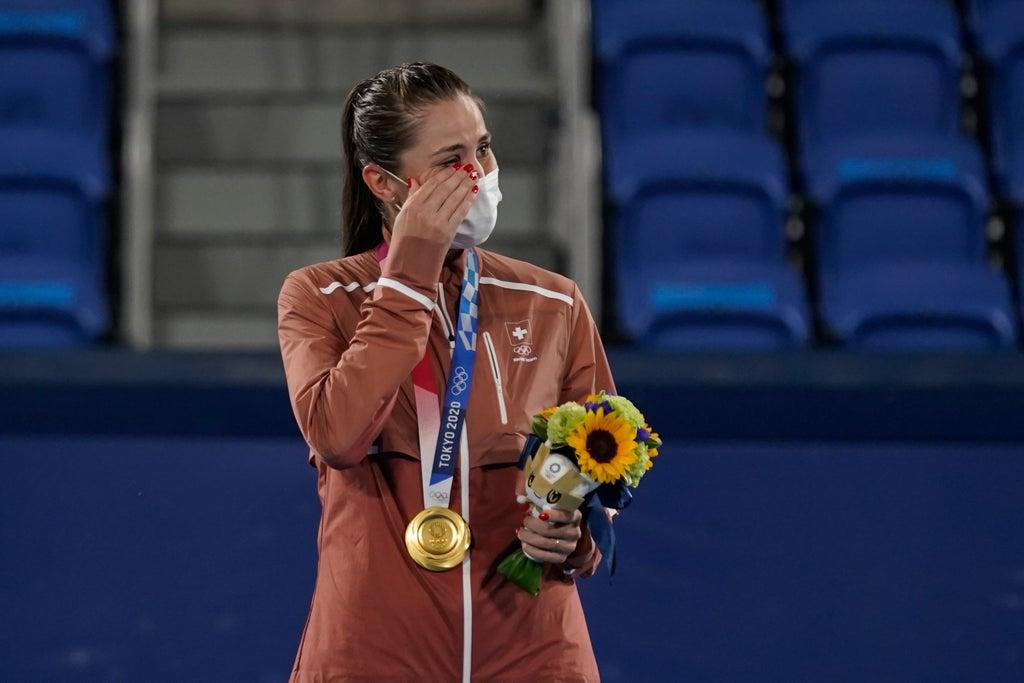 It wasn't Federer or Wawrinka.  Bencic gives Switzerland the gold in tennis