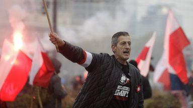 Nationalists and the Right marched through central Warsaw in an independence rally
