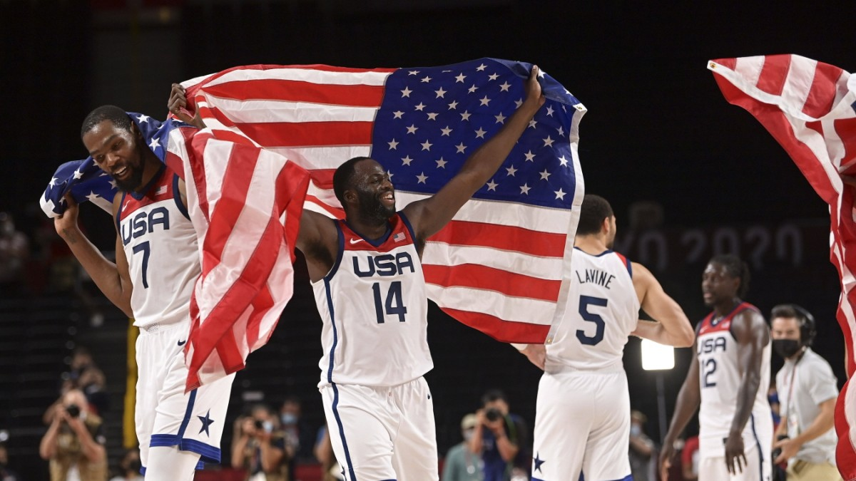 Basketball at the Olympics: A fiery message from the United States