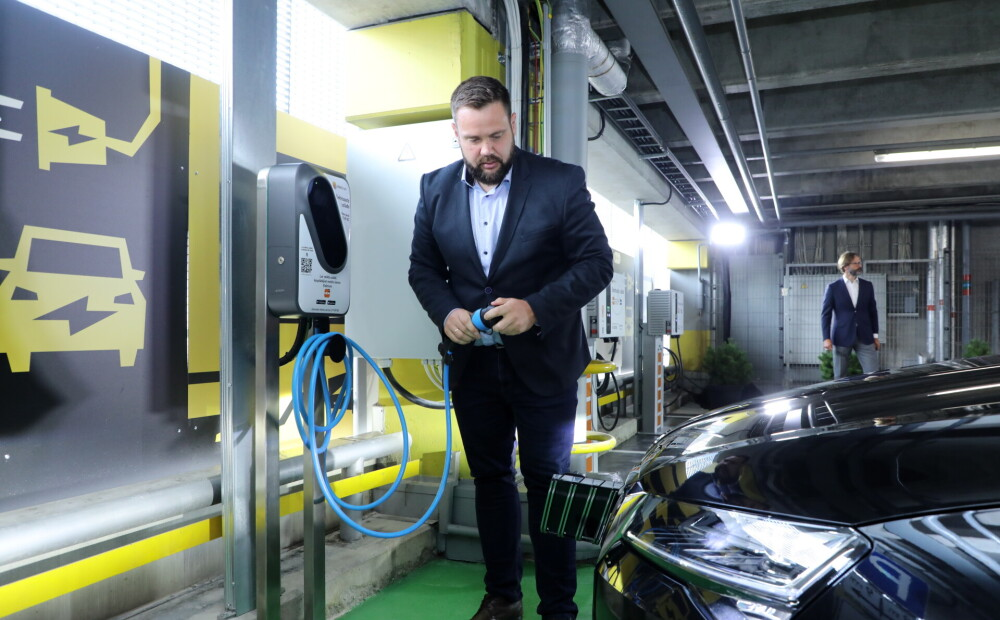Economy Minister Wittenberg: In the future, the electric charging network should become more dense throughout the country