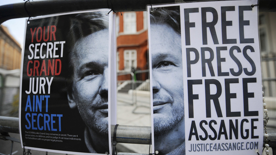 London: Former Labor leader Jeremy Corbyn calls for Assange's release with protesters