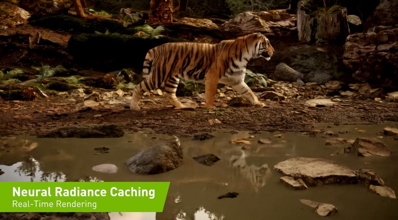 Nvidia showcases neural beam caching technology to improve global illumination