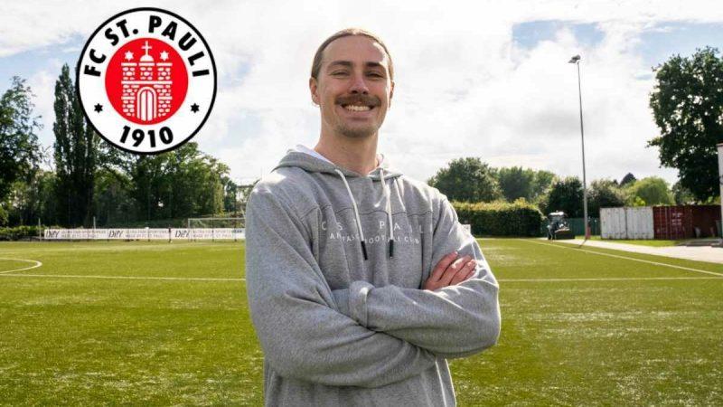 FC St. Pauli: New player Jackson Irvine makes his first training