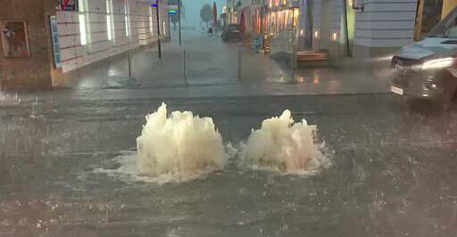 Heavy rain: many floods from Gmunden to Steyr