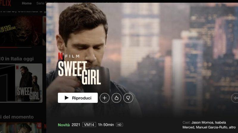Netflix: Sweet Girl debut with Jason Momoa |  TV