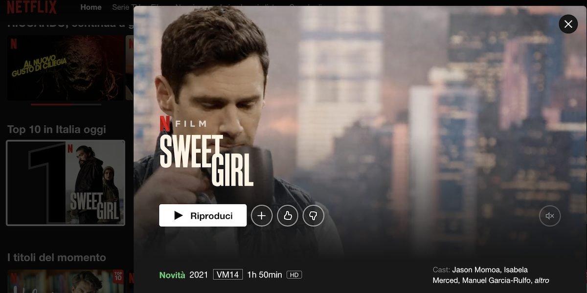 Netflix: Sweet Girl debut with Jason Momoa    TV
