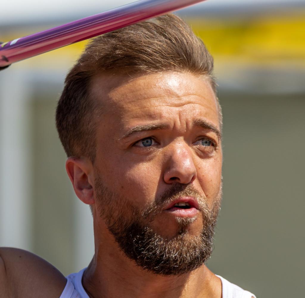 Matthias Meester in action -