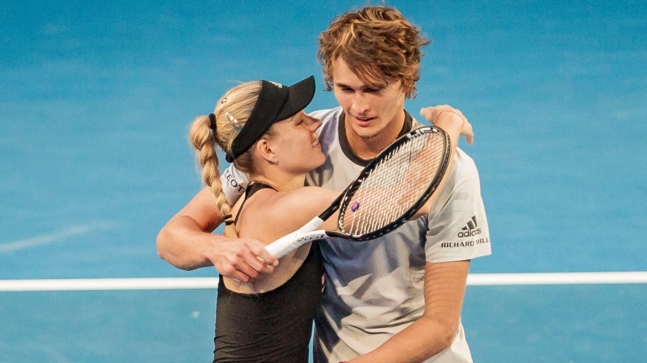 Angelique Kerber and Alexander Zverev: Their friendship is very deep – a sporty combination