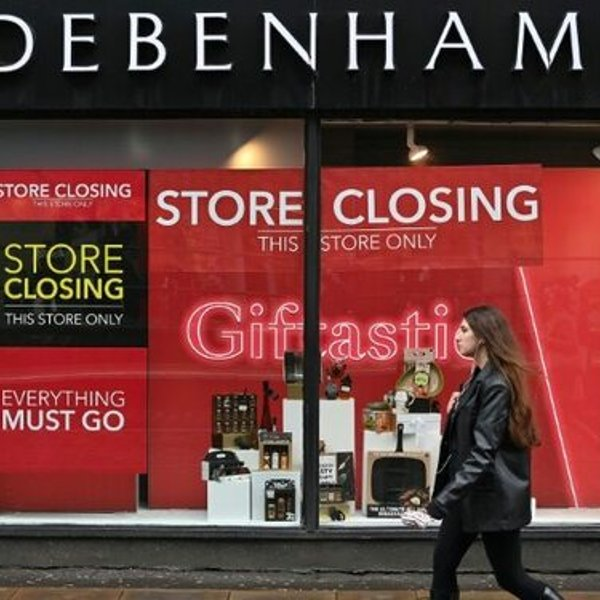 UK loses 83% of shopping centers in five years