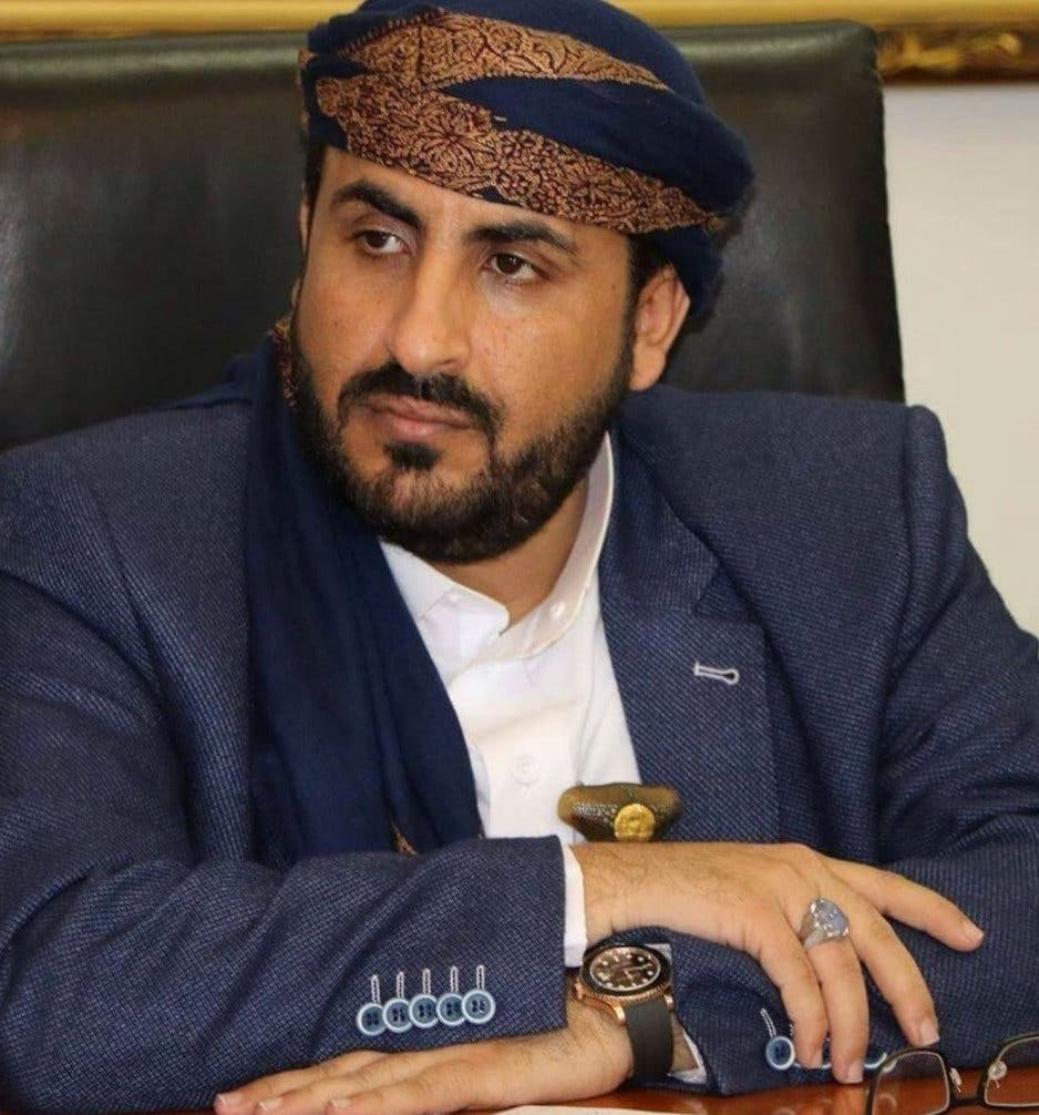 Head of the Houthi negotiating delegation, Muhammad Abd al-Salam (archive)