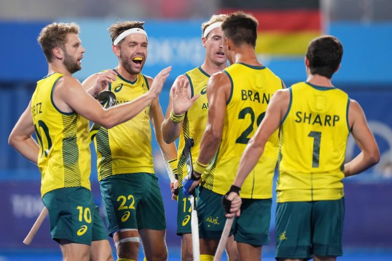 Australia and Belgium will play the final.  India and Germany will compete for the bronze medal