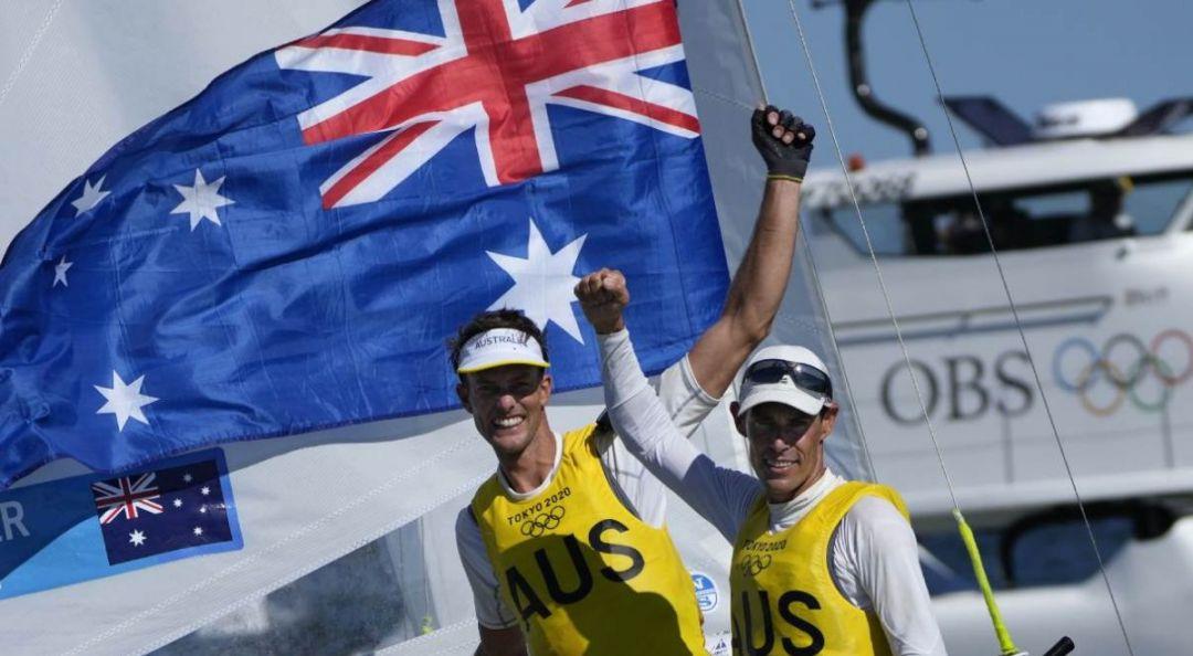 Australia wins gold in sailing class 470