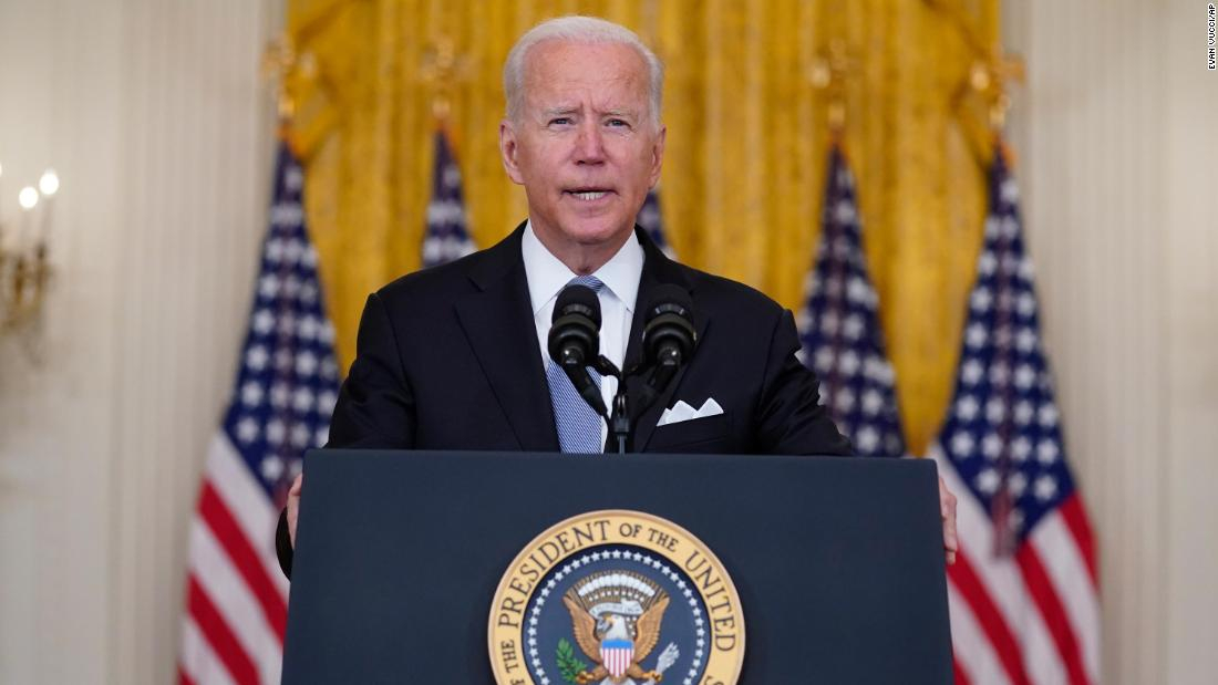 Biden on Afghanistan: 'I strongly support my decision'