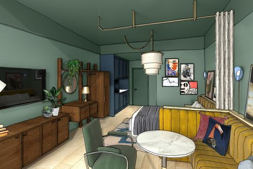 British hotel apartment brand Locke has opened two stores in Munich: a daily pass