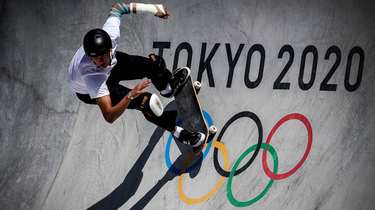 Broken arm, twisted joint: Edtmayer misses skateboard final – gold for Australia