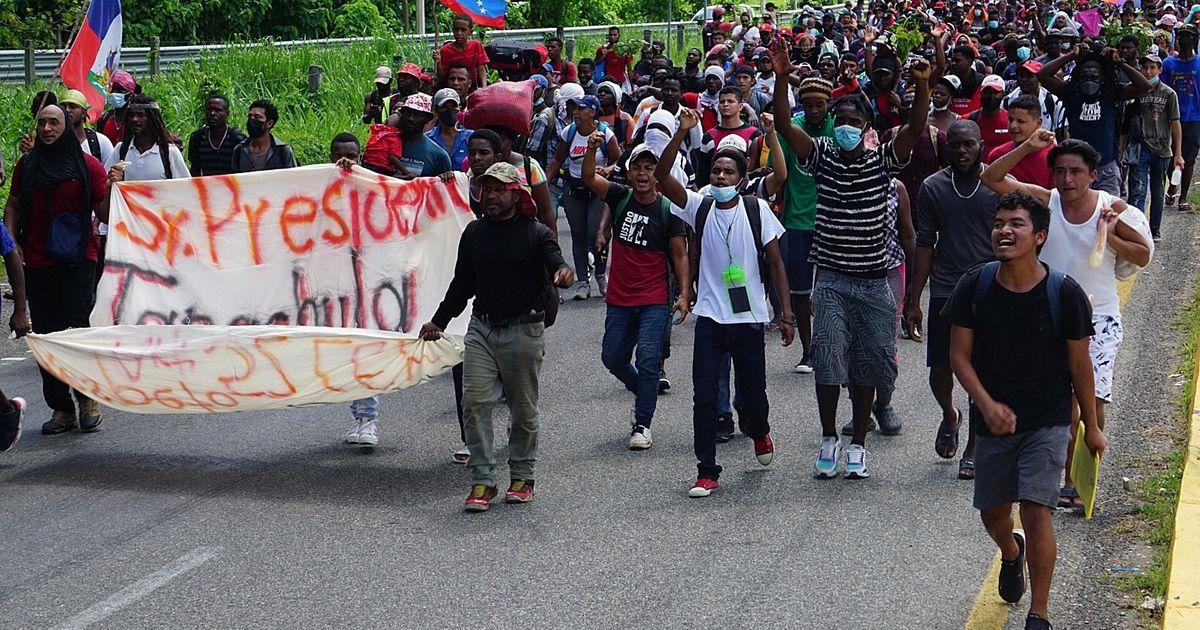Caravan of hundreds of migrants leaves Chiapas for the United States – El Financiero