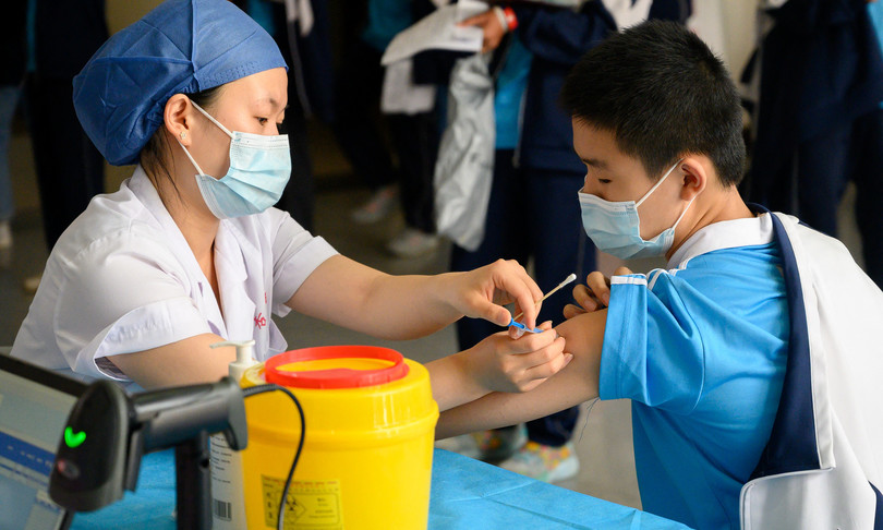 China has passed a milestone of two billion vaccines