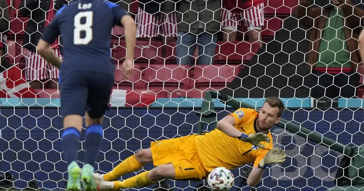 Euro: Finland beat Denmark 1-0