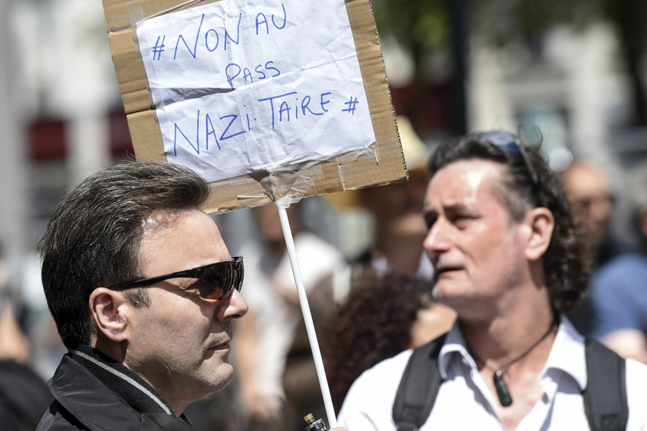 Health passport in France |  Anti-Semitic signals creep into protests