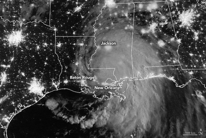 """Hurricane """"Ada"""" landed in Louisiana: the fifth largest hurricane to hit the continental United States in history – United States"""