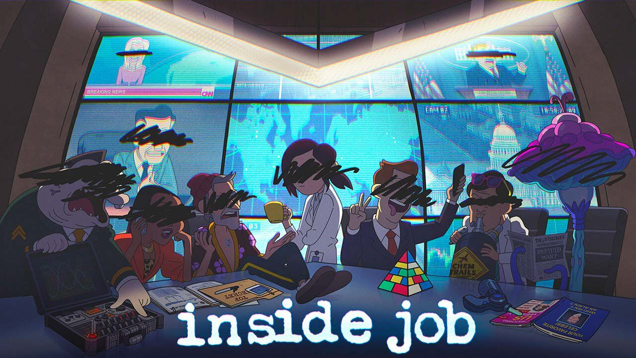 Inside Job, let's take a first look at the new Netflix animated series with Lizzie Caplan