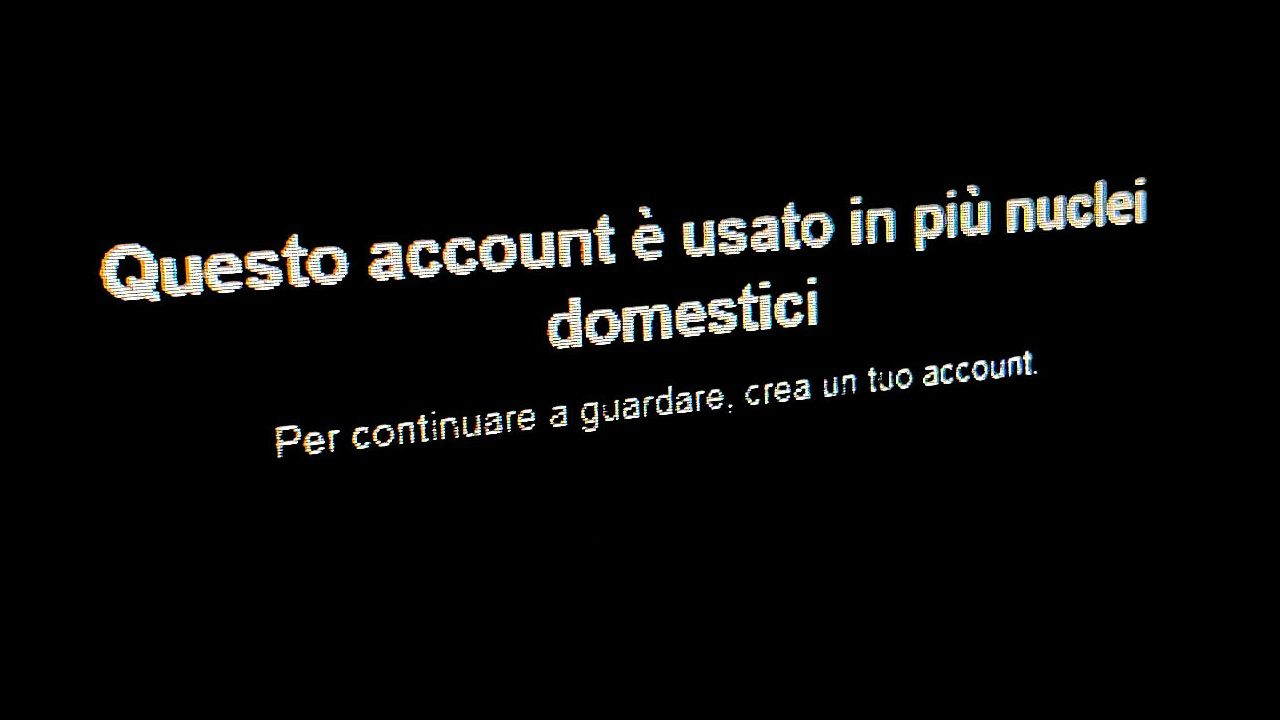 Is Netflix targeting subscription subscriptions in Italy?  Notice to users