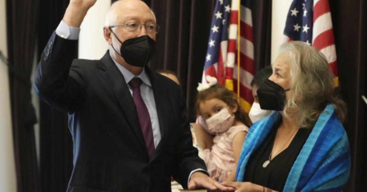 Ken Salazar protested as US ambassador to Mexico