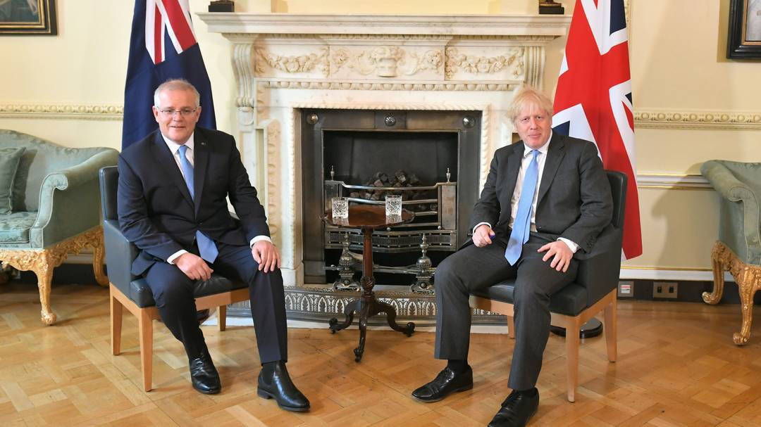 London signs controversial trade agreement with Australia