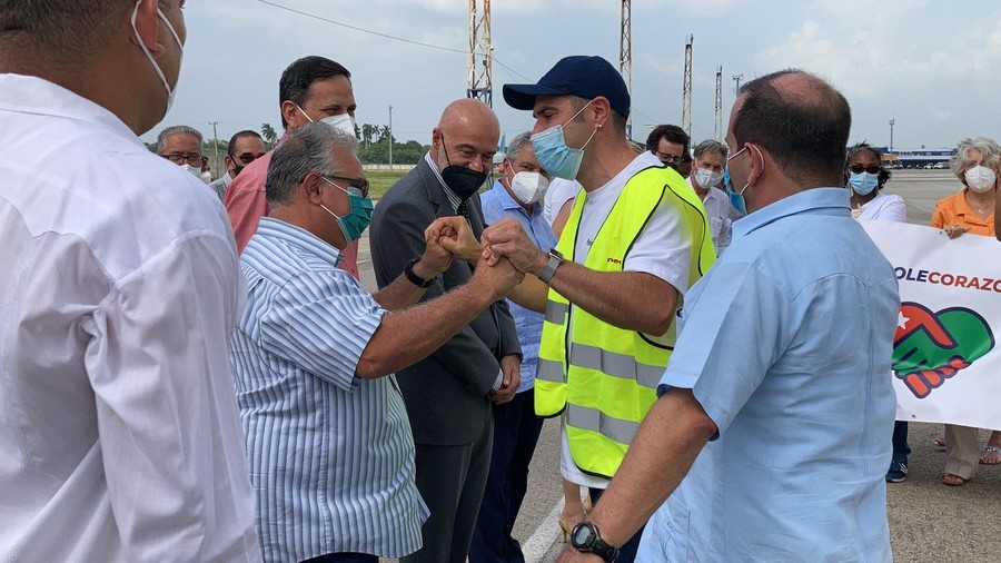 Materials donated to deal with Covid-19 also arrive from Imperia (photo) – Sanremonews.it