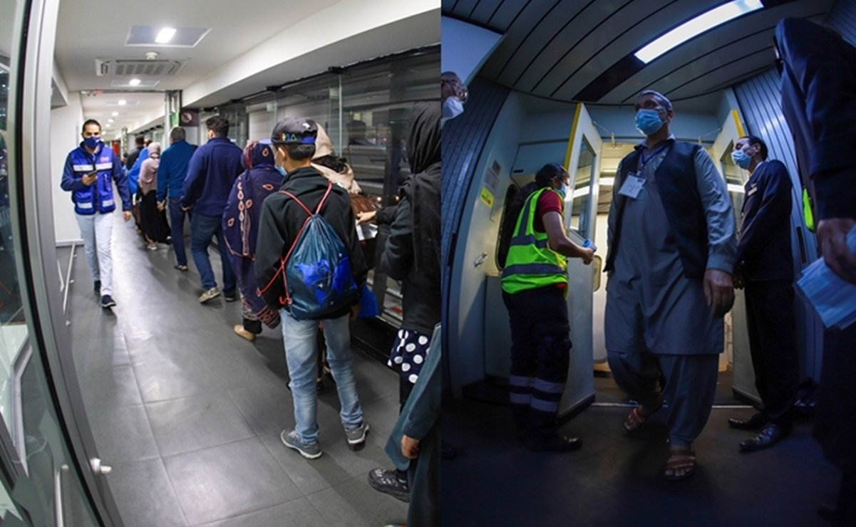 Mexico receives a third group of Afghan refugees;  86 Arriving from Qatar and UK