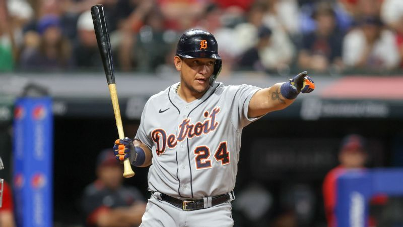 Miguel Cabrera is moving the research out of the United States