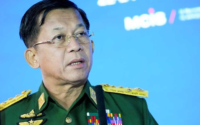 Myanmar junta leader as prime minister has promised to hold elections in 2023