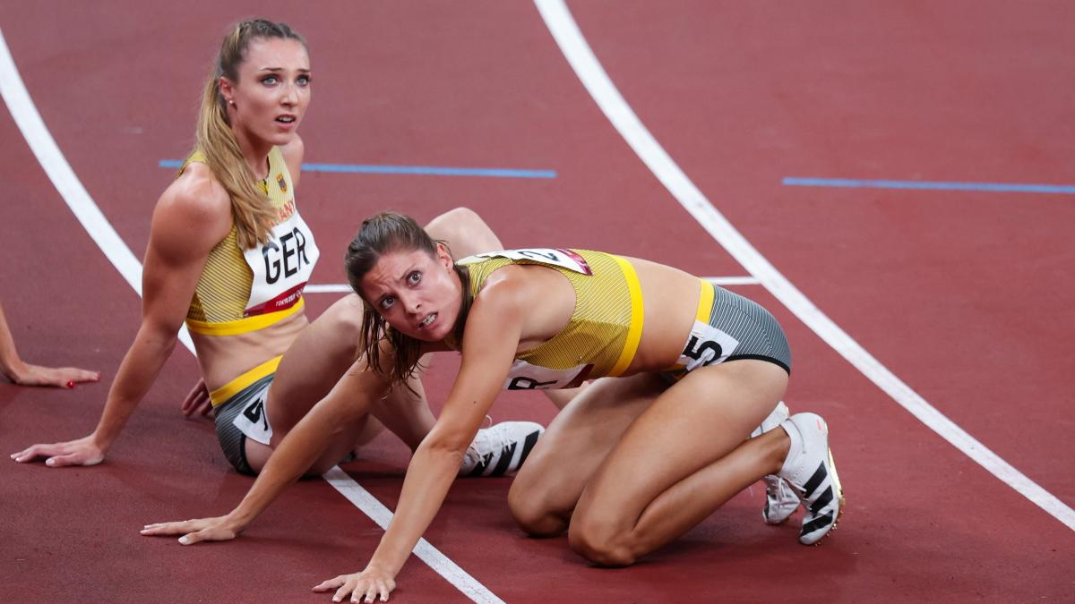 Olympia 2021: The German 4x400m relay missed the final