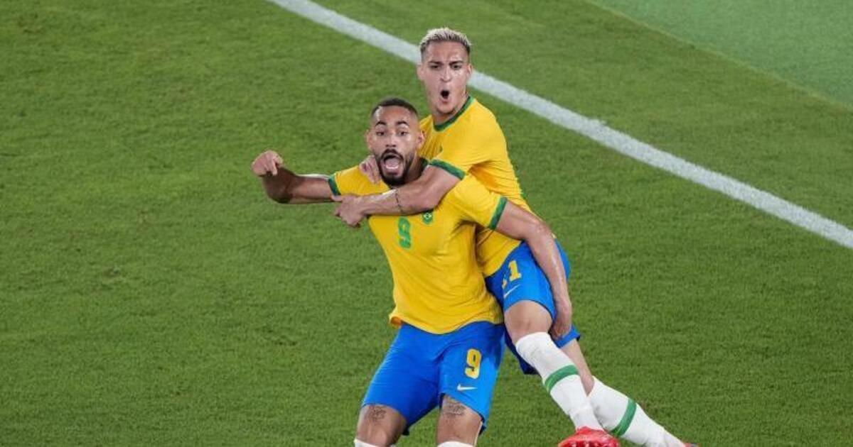 Olympic champion Brazil: victory after extra time – football