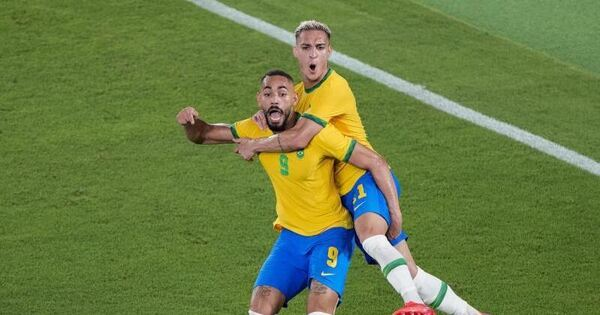 Olympic champion Brazil: victory after extra time