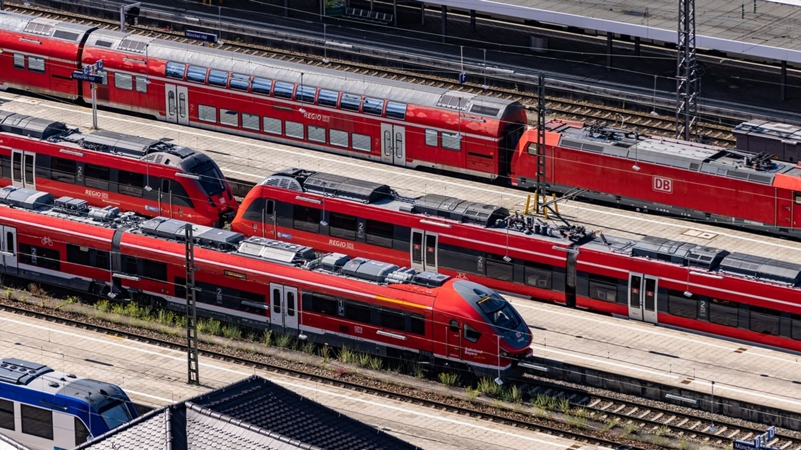 Rail strike: big restrictions on passengers in northern Bavaria