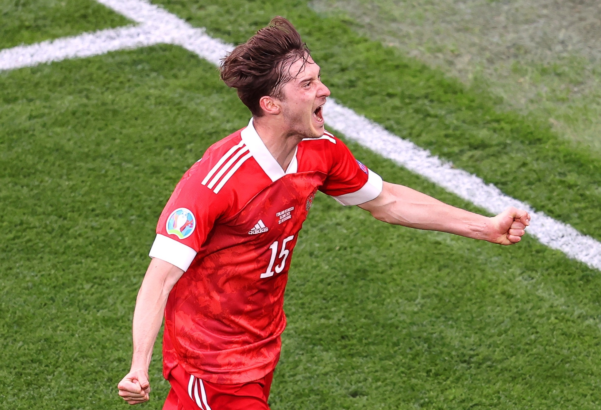 Russia beat Finland on the day of the European Championship