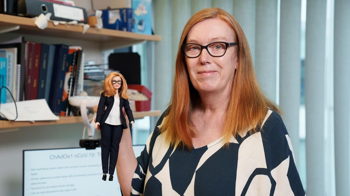 She developed a vaccine, got her own Barbie doll
