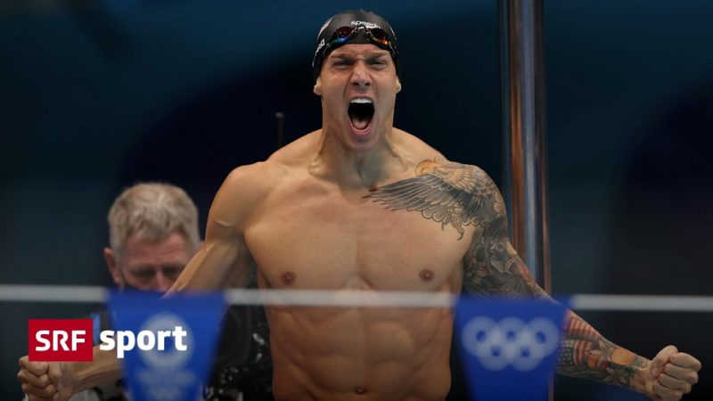 """Swimming decisions - Dressel makes himself the """"king"""" of Tokyo swimming"""