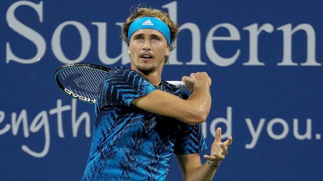 Tennis Championships in Cincinnati: Olympic champion Alexander Zverev reaches the semi-finals
