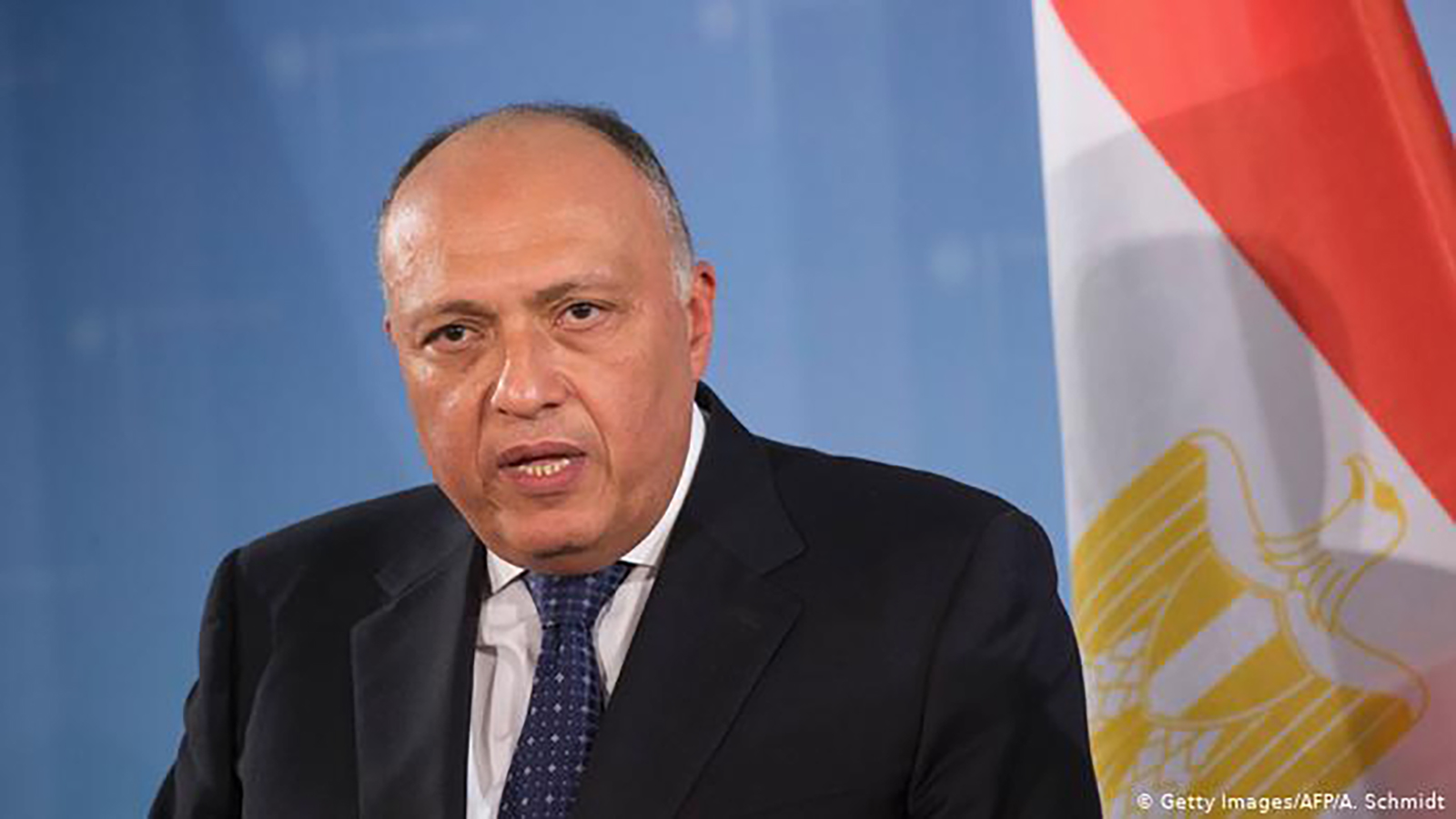 The Egyptian Foreign Minister heads to Algeria to attend the meeting of the neighboring countries of Libya